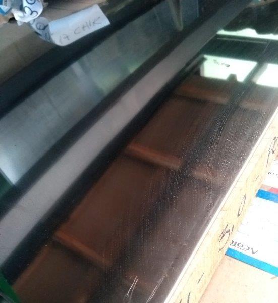 Chapa de aço inox 430 polido