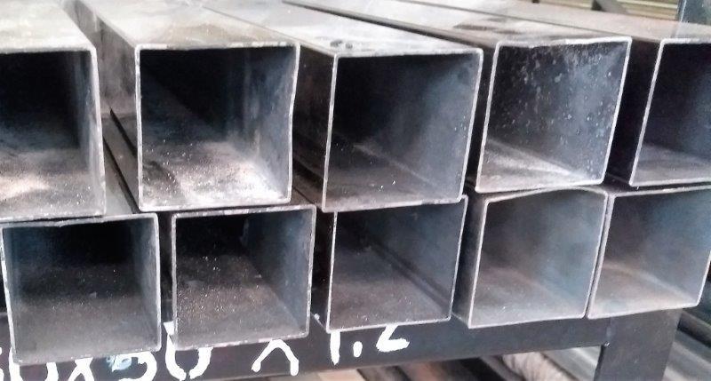 Tubo quadrado aço inox